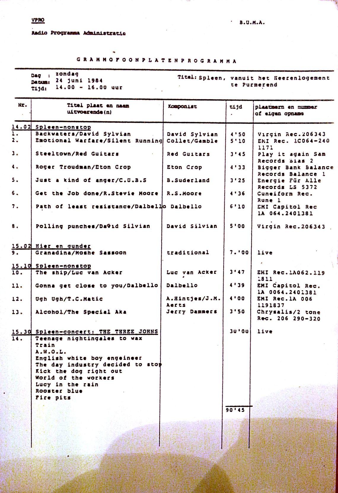 24 juni 1984